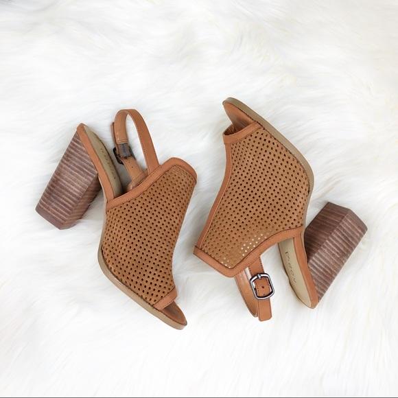 20dc84f6c78c Kelsi Dagger Shoes - Kelsi dagger KDB Goya cognac heeled booties